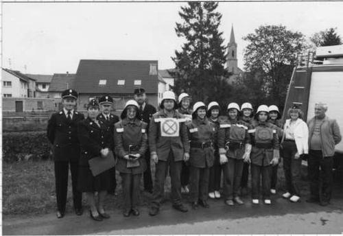 Leistungsprüfung Damen 10.10.1981