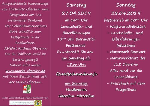 Schachblumenfest_Flyerinnen 2019