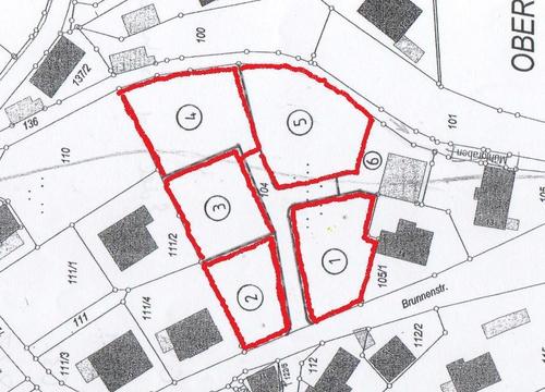 Lageplan Brunnenstraße